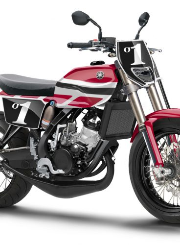 Yamaha T125 Concept Mock Up