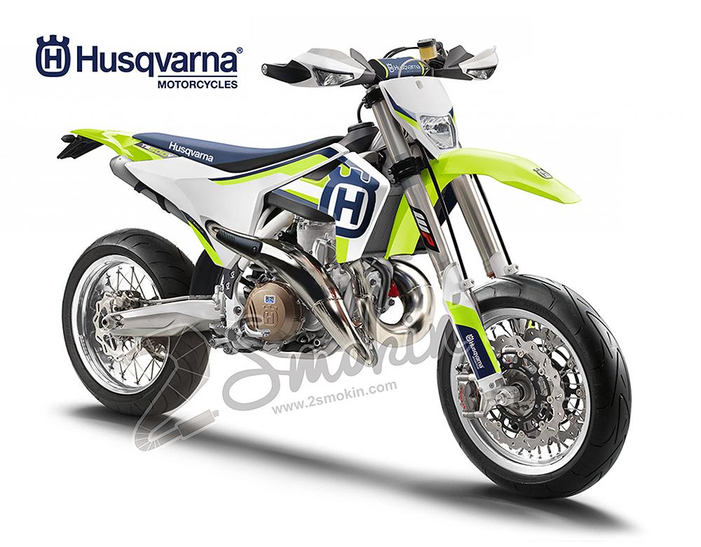 Husqvarna TS500V V-Twin Concept