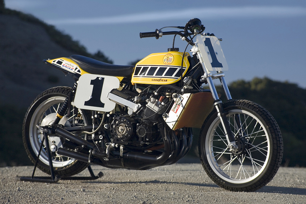 Kenny's TZ750 Dirt Tracker