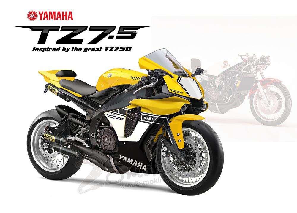 Yamaha TZ7.5 Concept